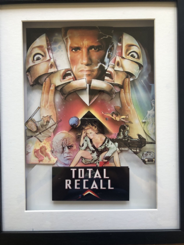 Total Recall 3D Diorama Shadow Box Art